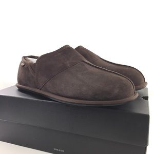 Ugg Mens Chocolate Brown Comfort Slipper Shoes